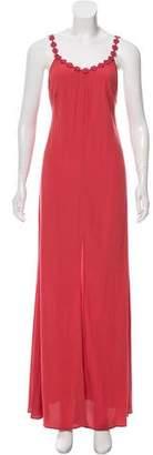 Reformation Maxi V-Neck Dress