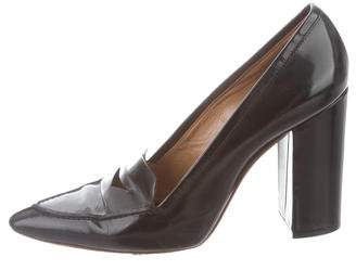 3.1 Phillip Lim Pointed-Toe High-Heel Loafers