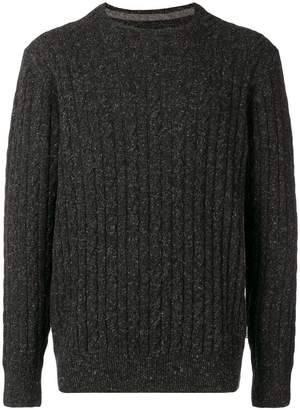 Barbour essential cable crew sweater