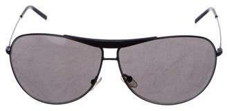 Giorgio Armani Aviator Tinted Sunglasses