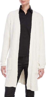 Joseph A Cable Knit Long Cardigan