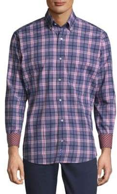 Tailorbyrd Casual Cotton Button-Down Shirt