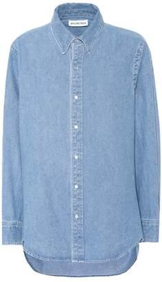 Balenciaga Denim shirt