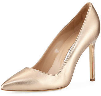 Manolo Blahnik BB Leather 105mm Pump
