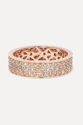 Rosegold Ofira - 18-karat Rose-gold Diamond Ring - Rose gold