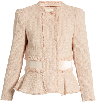 REBECCA TAYLOR Cropped tweed jacket $390 thestylecure.com