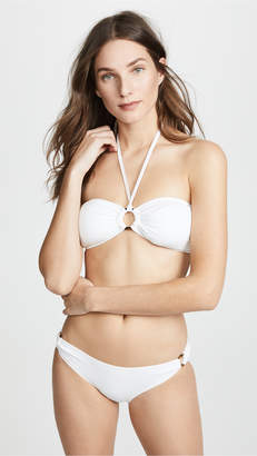 Kate Spade Palominos Islands Bandeau Halter Bikini Top