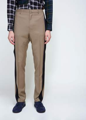 Lanvin Ribbon Stripe Straight Trouser
