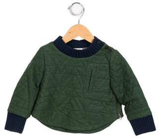 Tia Cibani Boys' Quilted Crew Neck Sweatshirt w/ Tags