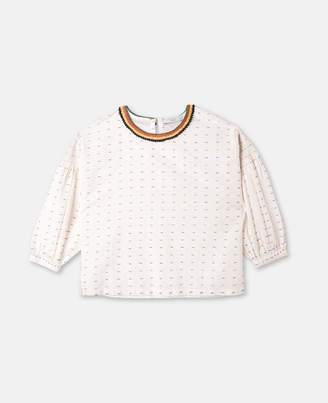 Stella McCartney juliana crochet blouse