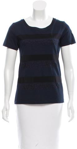 MonclerMoncler Appliqué-Accented Short Sleeve T-Shirt