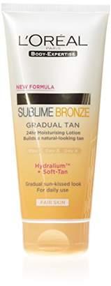 L'Oreal Sublime Bronze Gradual Tan Lotion Light, 200ml