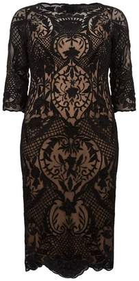 Marina Rinaldi Lace Shift Dress
