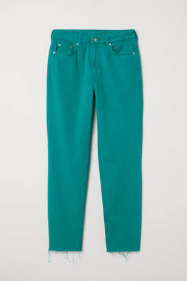 H&M Slim Mom Jeans - Green