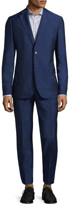 J. Lindeberg Donnie Solid Notch Lapel Suit