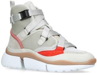 Chloé SonnieHigh-Top Sneakers