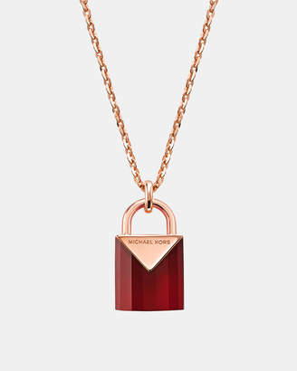 Michael Kors Premium Rose Gold-Tone Necklace