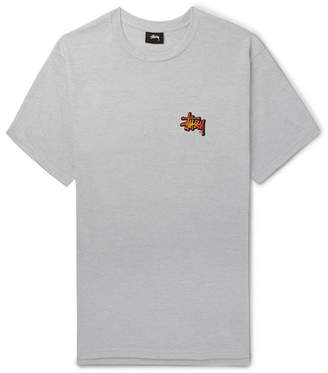 Stussy Printed Cotton-Blend Jersey T-Shirt