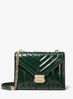 Michael Kors Whitney Large Quilted Leather Convertible Shoulder Bag