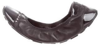 Prada Sport Logo Cap-Toe Flats