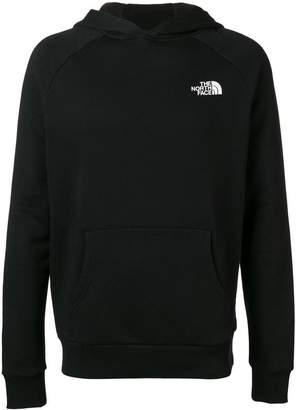 The North Face logo printed hoodie
