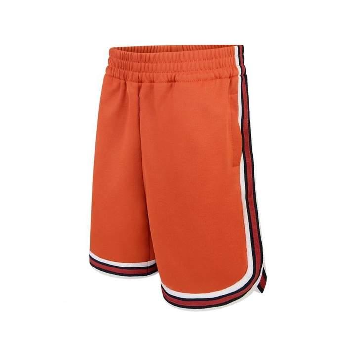GUCCIBoys Orange Technical Jersey Shorts