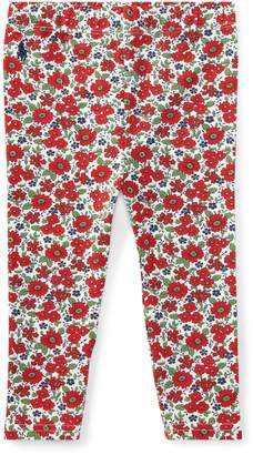 Ralph Lauren Floral Stretch Jersey Legging