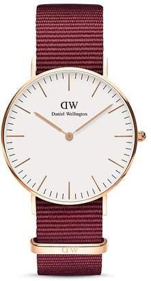 Daniel Wellington Classic Roselyn NATO Watch, 36mm