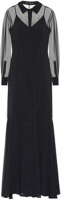 Max Mara Ugolina silk crepe dress
