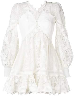 Zimmermann short lace dress