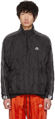adidas by Alexander Wang Black Half-Zip Windbreaker