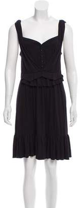 Marc by Marc Jacobs A-Line Ruffle Dress