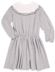 Fendi Little Girl's& Girl's Colorblock Dress