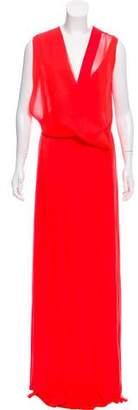 Cédric Charlier Sleeveless Maxi Dress
