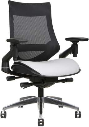 Tygerclaw Mid Back Faux Leather Mesh Office Chair