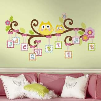 Roommates Happi Tree Letter Branch Peel & Stick Wall Decal