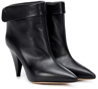 Isabel Marant Lisbo leather ankle boots