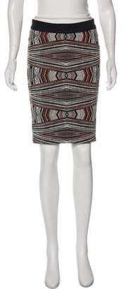 Roseanna Embroidered Knee-Length Skirt w/ Tags