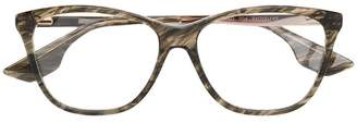McQ Eyewear marbled square glasses