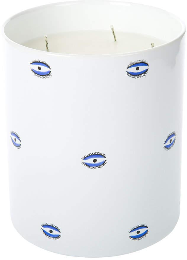 Casa Carta - Evil Eye Porcelain Candle - Mediterranean Fig - Large