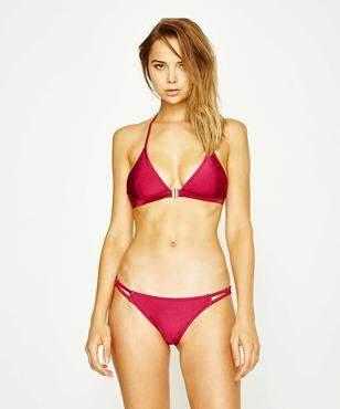 MinkPink Morgana Triangle Bikini Top