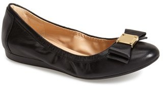Cole Haan 'Tali' Bow Ballet Flat $170 thestylecure.com
