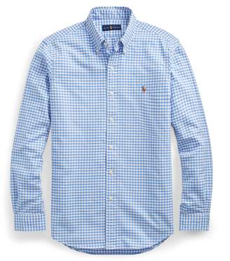 Ralph Lauren Slim Fit Gingham Oxford Shirt