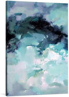 United Interiors Beleuropa Painted Canvas Wall Art, 70x100cm