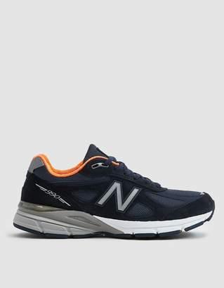 New Balance 990v4 Sneaker in Navy