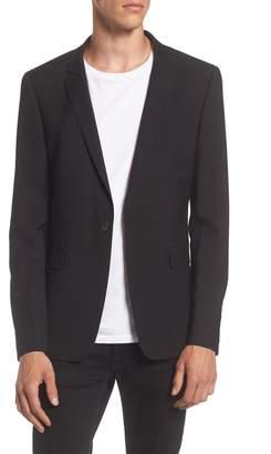 Topman Ultra Skinny Black Suit Jacket