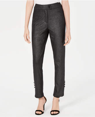 XOXO Juniors' Metallic Skinny Pants