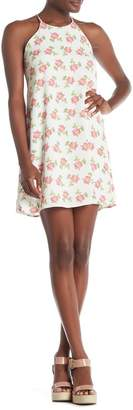Everly Sleeveless Floral Shift Dress