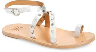 Beek Lorikeet Studded Strappy Flat Sandal