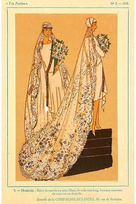 One Kings Lane Vintage Wedding Dress - 1928 - MAPSandART
